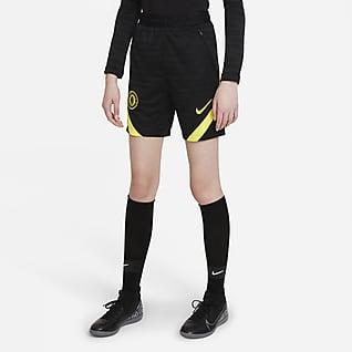 Chelsea FC Strike Shorts de fútbol Nike Dri-FIT Nike para niños talla grande