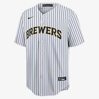 MLB Milwaukee Brewers (Christian Yelich) Men's Replica Baseball Jersey