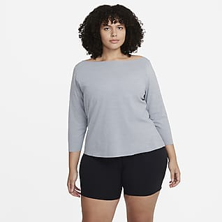 Nike Yoga Luxe Women's Long-Sleeve Top (Plus Size)