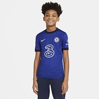 Chelsea FC 2020/21 Stadium (hemmaställ) Fotbollströja för ungdom