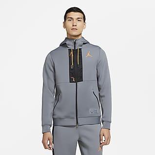Jordan Air Sweat à capuche en tissu Fleece entièrement zippé pour Homme