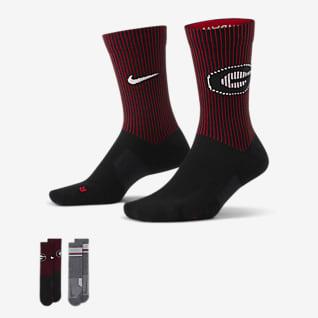 Nike College Multiplier (Georgia) Calcetines largos (2 pares)