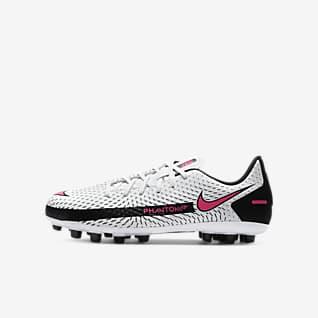 Nike Jr. Phantom GT Academy AG Chaussure de football à crampons pour terrain synthétique pour Jeune enfant/Enfant plus âgé