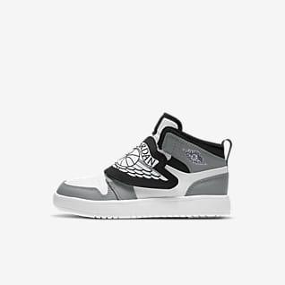 Sky Jordan 1 Calzado para niños talla pequeña