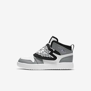 Sky Jordan 1 Younger Kids' Shoe