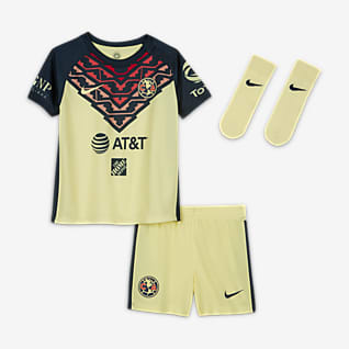 Club América 2021/22 Home Baby/Toddler Soccer Kit