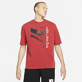Jordan Flight Kısa Kollu Grafikli Erkek Tişörtü