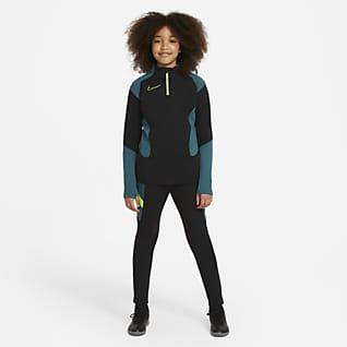 Nike Dri-FIT Academy Conjunto de fútbol de tejido Knit para niños talla grande