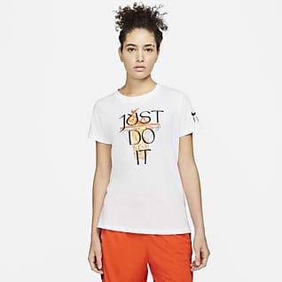 "Nike Dri-FIT ""Just Do It"" Damen-Basketball-T-Shirt"