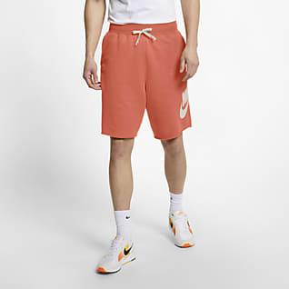Nike Sportswear Alumni Frottéshorts til herre