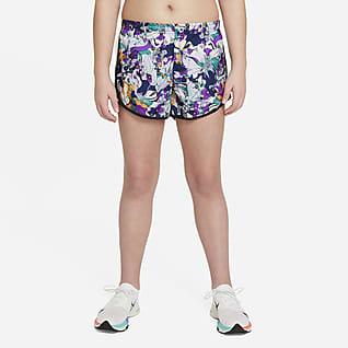 Nike Dri-FIT Tempo Shorts de entrenamiento para niñas talla grande (talla extendida)