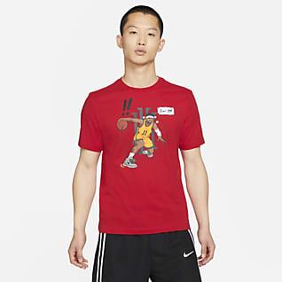 Kyrie Logo เสื้อยืดบาสเก็ตบอลผู้ชาย