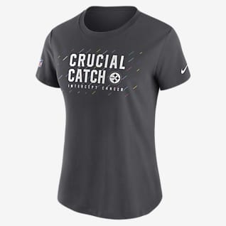 Nike Dri-FIT Crucial Catch (NFL Pittsburgh Steelers) Women's T-Shirt