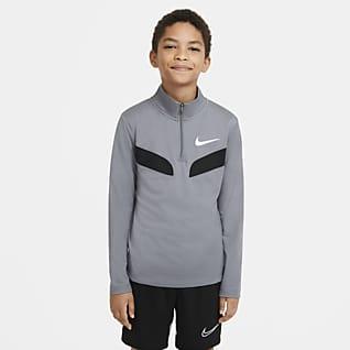Nike Sport Футболка для тренинга с длинным рукавом для мальчиков школьного возраста