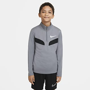 Nike Sport Prenda superior de entrenamiento manga larga para niño talla grande