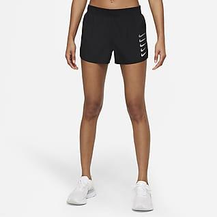 Nike Swoosh Run Shorts de running con ropa interior forrada para mujer