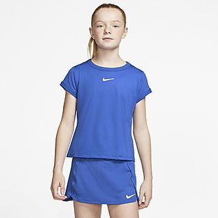 NikeCourt Dri-FIT Top da tennis - Ragazza