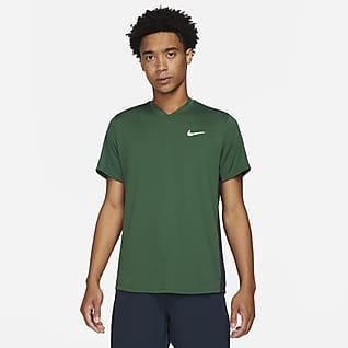 NikeCourt Dri-FIT Victory Tennistrøye til herre