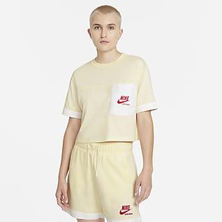 Nike Sportswear Heritage Prenda para la parte superior de manga corta oversized para mujer