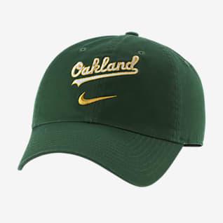 Nike Heritage86 Swoosh (MLB Oakland Athletics) Adjustable Hat