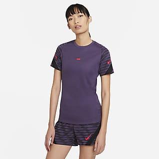 Nike Dri-FIT Strike Kortærmet fodboldtop til kvinder