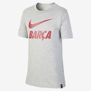 F.C. Barcelona Older Kids' Football T-Shirt