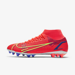Nike Mercurial Superfly 8 Academy AG Chaussure de football à crampons pour terrain synthétique
