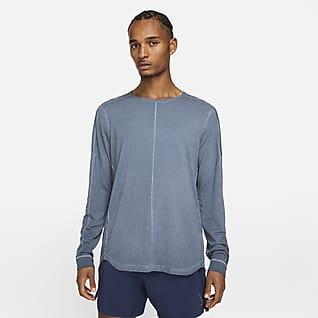 Nike Yoga Langærmet overdel til mænd