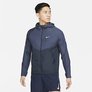 Nike Repel Miler เสื้อแจ็คเก็ตวิ่งผู้ชาย