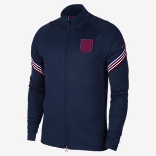 England Strike Men's Football Tracksuit Jacket