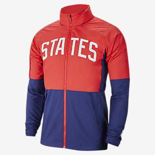 U.S. Men's Water-Repellent Soccer Jacket
