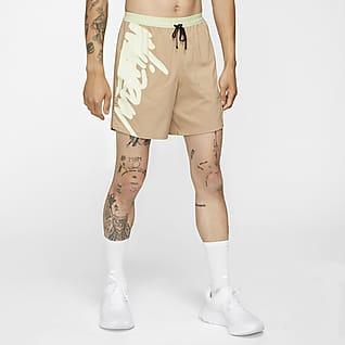 Nike Dri-FIT Flex Stride Wild Run กางเกงวิ่งขาสั้น 7 นิ้วไม่มีซับในผู้ชาย