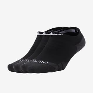 Nike Everyday Max Cushioned ถุงเท้าเทรนนิ่งผู้หญิงแบบซ่อน (3 คู่)