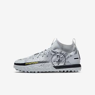 Nike Jr. Phantom Scorpion Academy Dynamic Fit TF Buty piłkarskie na sztuczną nawierzchnię typu turf dla małych/dużych dzieci