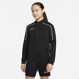 Nike Dri-FIT Academy Chamarra de entrenamiento de fútbol para niño talla grande