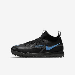 Nike Jr. Phantom GT2 Academy Dynamic Fit TF Little/Big Kids' Turf Soccer Shoe