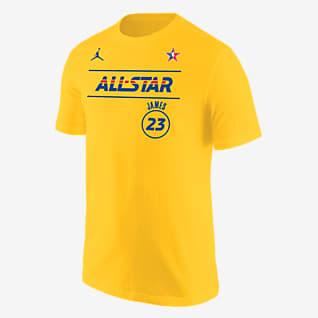LeBron James All-Star Men's Jordan NBA Player T-Shirt