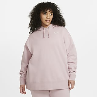Nike Sportswear Fleece-Pullover für Damen (große Größe)