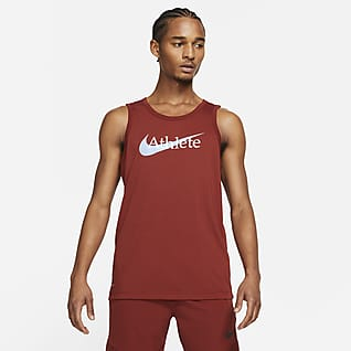 Nike Dri-FIT Trainingstanktop met Swoosh voor heren
