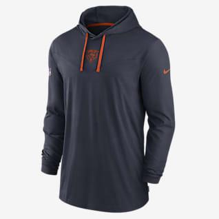 Nike Dri-FIT Sideline (NFL Chicago Bears) Men's Long-Sleeve Hooded T-Shirt