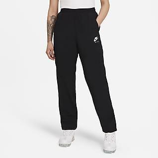 Nike Air กางเกงขายาวผู้หญิงแบบทอ