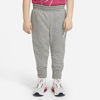 Nike Sportswear Club Faconsyede bukser i french terry til større børn (piger) (udvidet størrelse)