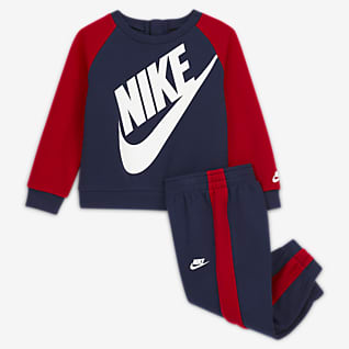 Nike Baby (0-9M) Crew and Pants Set