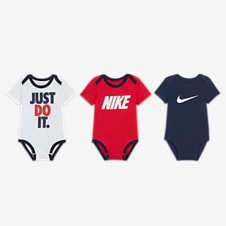 Nike Baby (0-9M) Bodysuit Box Set (3-Pack)