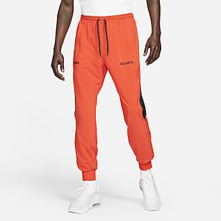 Nike F.C. Męskie dresowe spodnie piłkarskie z tkaniny
