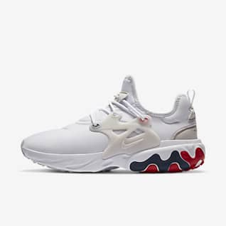 nike air presto usa white running shoes
