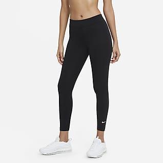 Nike Sportswear Essential 7/8-Leggings mit mittelhohem Bund für Damen