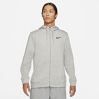 Nike Dri-FIT 男子全长拉链开襟训练连帽衫