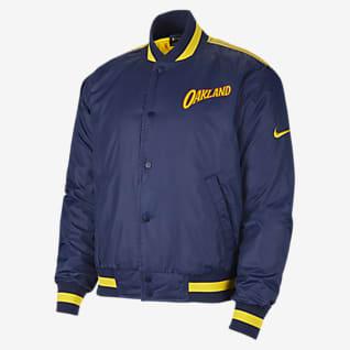 Golden State Warriors City Edition Courtside Nike NBA Erkek Ceketi