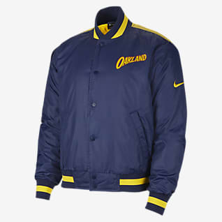 Golden State Warriors City Edition Courtside Nike NBA-Jacke für Herren